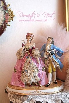 Marie Antoinette ~ Let Us Eat Cake party inspiration board by Bella Bella Studios ~ Porcelain Dolls For Sale, Fine Porcelain, Victorian Dolls, Vintage Dolls, Dresden Dolls, Dresden Porcelain, Half Dolls, China Dolls, Marquise