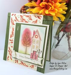 Stampin' Up!'s Holiday Home stamp set & Homemade Holiday Framelits Dies