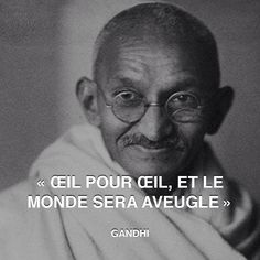 """An eye for an eye only ends up making the whole world blind."" - Gandhi http://www.pandagu.ru/en/quote-of-the-day/eye-for-eye via @pandaguruapp"