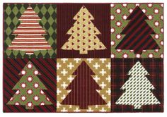 Holiday Collection Trim The Tree 3p173 Shaw Area Rug Georgia Carpet Industries