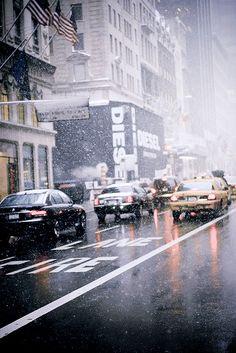Manhattan Street, New York City.