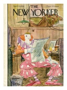 The New Yorker Cover 1950