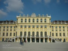 #SchonbrunnViennaarchitecture #helena50 (November 27 2015 at 10:35AM) Schönbrunn Palace is the most visited city sights. Named after Emperor Matiáš which point to the early 17th century named Schoener Brunnen (beautiful fountain) because here from the land of springs spring of pure water. He left a statue of nymph and later hunting lodge which was not destroyed by the Turks after the raid at the second siege of Vienna. Ownership of the castle over the centuries changed had its headquarters…