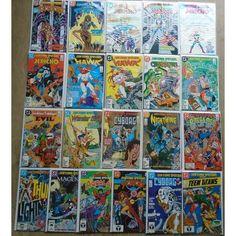 Teen Titans Spotlight #1-21 Full Set. DC 1986. Marv Wolfman. VFN