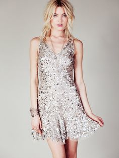 Free People Shimmy Shimmy Party Dress at Free People Clothing Boutique