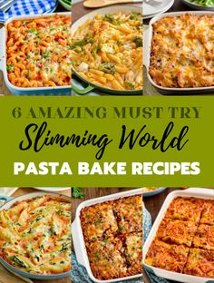 6 Must Try Best Ever Slimming Welt Pasta Bakes - wenn Sie Pasta Backen kochen, m . - Receipes and slimming world - Pasta Rezepte Slimming World Pasta Bake, Slimming World Dinners, Slimming World Recipes Syn Free, Slimming World Diet, Slimming Eats, Chicken And Bacon Pasta Bake, Baked Pasta Recipes, Diet Recipes, Cooking Recipes