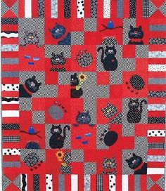"Quilt Pattern Sew Special Designs ""Catnip #777"" 52"" x 60"" or 14"" Pillow Unused"