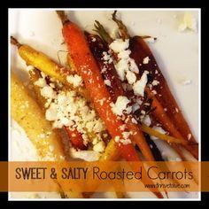 Sweet & Salty Roasted Carrots | Thrive: Faith, Family & Food