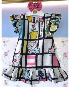 Baby Girl Frocks, Frocks For Girls, Little Girl Dresses, Baby Girl Fashion, Kids Fashion, Baby African Clothes, Kids Dress Wear, Kids Frocks Design, Baby Girl Dress Patterns