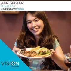 Sabías que varios estudios han demostrado que al ver comida se crea una mayor actividad en el área de la corteza cerebral enfocada en la #visión que incluso en la asociada al gusto?