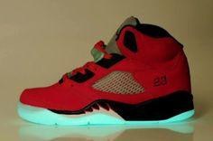 reputable site a0d61 a1a3b Jordan-5-shoes-night-light Air Jordan Sneakers, Nike Air Jordans