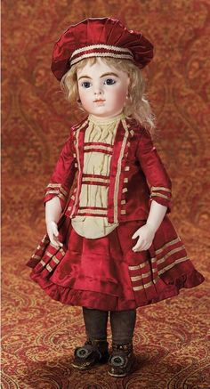 Antique  Bru  doll,