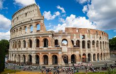 The Colosseum in Rome was definitely built to impress Louvre, Tower, Architecture, Building, Style, Rome, Arquitetura, Swag, Rook