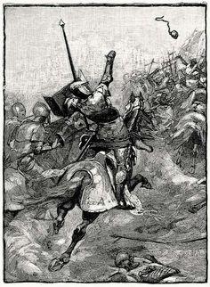 """""""En Teba –agosto de 1330–, acaban de enfrentarse las fuerzas cristianas con las del Emirato de Granada. Entre los cruzados, se ha significado Douglas, lugarteniente del difunto Robert the Bruce, rey de Escocia, y portador de una reliquia que se ha perdido en el fragor de la batalla. Hablamos del corazón embalsamado del propio Bruce, símbolo de un honor que va más allá de las palabras, y que solo tenía sentido en el marco de aquella cruzada."""""""