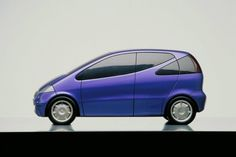OG | 1997 Mercedes-Benz A-Class | Scale clay design proposal