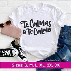 Couple Shirts, Mom Shirts, Kids Shirts, Funny Shirts, T Shirts For Women, T Shirt Time, My T Shirt, Mexican Shirts, Cute Shirt Designs