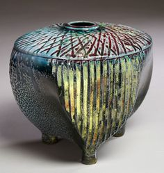"""Untitled"" by Saskatchewan ceramics artist Mel Bolen."