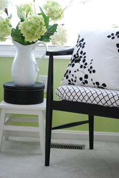 Green and Turq Bedroom