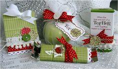 *teacher's appreciation gifts*  aunque veo que todos los regalitos van dirigidos a los maestros