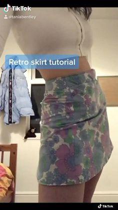 Fashion Sewing, Diy Fashion, Ideias Fashion, Diy Jeans, Sewing Clothes, Custom Clothes, Clothes Crafts, Diy Summer Clothes, Summer Clothing