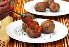 Spicy Indian Style Meatballs...serve as finger food at a party or as the main course at a meal....minced meat kebabs, which is very, very common in Indian and Middle Eastern cuisine. Call them whatever you'd like, but the point is that th...