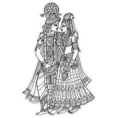 I'm offering a discount! Marriage Symbols, Indian Drawing, Krishna Art, Krishna Images, Radhe Krishna, Lord Krishna, Hot Girls, Vintage Umbrella, Wedding Art