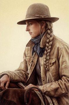 Braids and Bows~Carrie Ballantyne~Wyoming Print Gallery(formerly Big Horn Print Gallery)