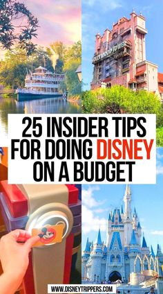 25 Insider Tips For Doing Disney On A Budget   how to do disney world cheap   disney tips   disney saving plan   how to disney on a budget   insider tips for visiting disney on a budget   budget travel tips for disney world   how to save money at disney world   disney travel tips   tips for planning a disney trip on a budget   how to go to disney on a budget   going to disney on a budget   #disneyworld #disneybudget