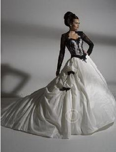 Gothic bruidsjurken
