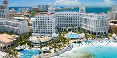 All-inclusive, 5 Nights with Air from $1,019 at Riu Palace Las Americas in Cancun #Travel #Beach