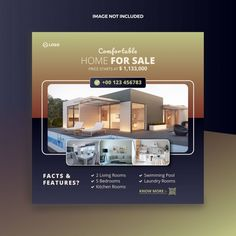 Real Estate Ads, Real Estate Houses, Real Estate Marketing, Web Banner, Inmobiliaria Ideas, Real Estate Banner, Hotel Ads, Property Ad, Real Estate Templates