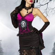 Teuflisch auffallendes 5-teiliges Vampir-Kostüm für die Halloween- oder  Kostüm-Party ac571e1c3d