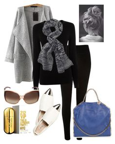 """Urban day!!!"" by carla1509 on Polyvore featuring River Island, Oasis, Miu Miu, Fraas, STELLA McCARTNEY, Jimmy Choo, Carolina Herrera, women's clothing, women and female"