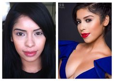 Transformation of our beauty student Kim