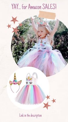 Birthday and dress-up for Unicorn themed parties. The pastels Tutu sequins dress comes with Unicorn Headband included. Girl Unicorn Costume, Unicorn Outfit, Unicorn Headband, Rainbow Tutu, Rainbow Unicorn, Birthday Gifts For Girls, Unicorn Birthday Parties, Themed Parties, Party Themes