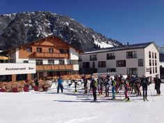 Das war der Tannberglauf 2015 :) (Foto von Skischule Warth) Mount Everest, War, Mountains, Nature, Travel, Voyage, Viajes, Traveling, The Great Outdoors