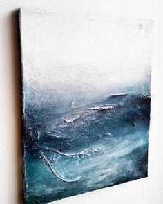 """272 tykkäystä, 15 kommenttia - Marianna Raikkala (@artbymarianna) Instagramissa: """"Sideview, 'Underwater' / 41 x 33cm #painting #underwater #abstract #art #artwork #abstractart…"""""""