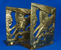 Vintage Pair of Solid Brass Eagle Book Ends  eBay Link: http://www.ebay.com/itm/Vintage-Pair-of-Solid-Brass-Eagle-Book-Ends-/302039701859  RD12333  Go back to Tin Can Alley - FOR SALE: http://www.bagtheweb.com/b/PBdAfQ