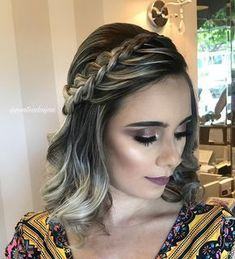 Top 60 All the Rage Looks with Long Box Braids - Hairstyles Trends Prom Hairstyles For Short Hair, Braids For Short Hair, Box Braids Hairstyles, Short Hair Cuts, Wedding Hairstyles, Hairstyles 2018, Gorgeous Hairstyles, Ideas For Short Hair, Braided Short Hair