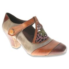 Vtg Julianelli Italian Beige & Black Saddle Oxford Style Low Heel Canvas Shoes 8 Heels
