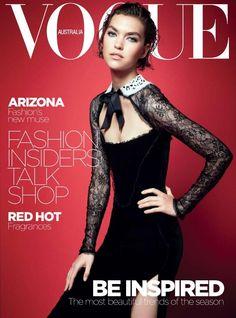 Arizona Muse. Vogue Australia. October 2011. (3)