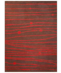 @Overstock - Bold contemporary style and fine craftsmanship update your home or office decor Hand-tufted of 100-percent New Zealand wool pile Modern stripes motif in dark brown and redhttp://www.overstock.com/Home-Garden/Hand-tufted-Zoom-Red-Wool-Rug-8-x-106/2254072/product.html?CID=214117 $340.99