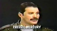 Freddie Mercury Talks About Michael Jackson