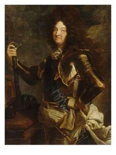 Louis XIV, roi de France et de Navarre en 1701 by Hyacinthe Rigaud Louis Xiv, Grand Dauphin, Bourbon, Ludwig Xiv, French Royalty, Art Moderne, Versailles, Strike A Pose, Portrait