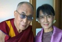 Beauty and goodness. My heroine. Free Burma now.