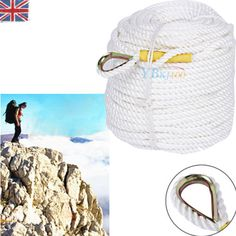 Sport 60/90m safety #climbing rock sling #rappelling rope #auxiliary cord equipme,  View more on the LINK: http://www.zeppy.io/product/gb/2/172258663118/
