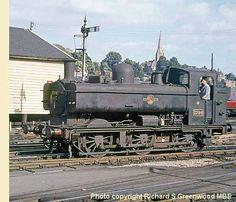3794 at Exeter St David's Diesel Locomotive, Steam Locomotive, Time Travel Machine, Steam Railway, Old Trains, British Rail, Great Western, Electric, Steam Engine