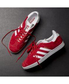 the best attitude b9e65 d8af5 Womens Adidas Gazelle Red White Trainer Trajes Deportivos, Zapatillas Adidas,  Calzas, Carteras,