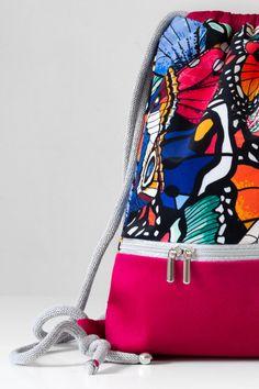 Drawstring Bags, Backpack Bags, Polish, Backpacks, Urban, Pink, Handmade, Vitreous Enamel, Nail Polish