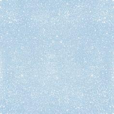 Pastel Blue Glitter Art Print by Aloke Design